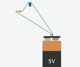 Tinkercad Simple LED Circuit Simulation