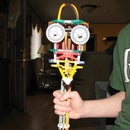Knex jose halepinio on a stick.
