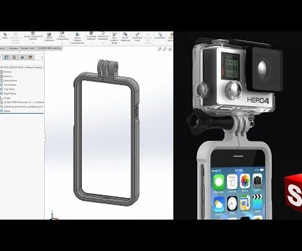 DIY IPhone Case With GoPro Mount