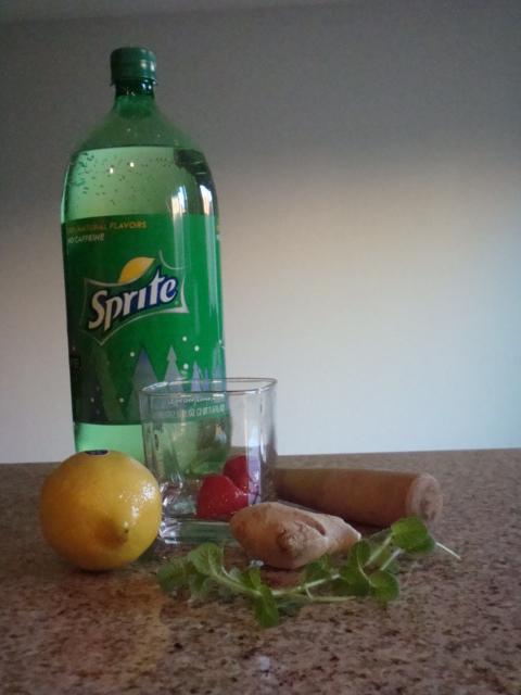 Strawberry Juliet Mocktail