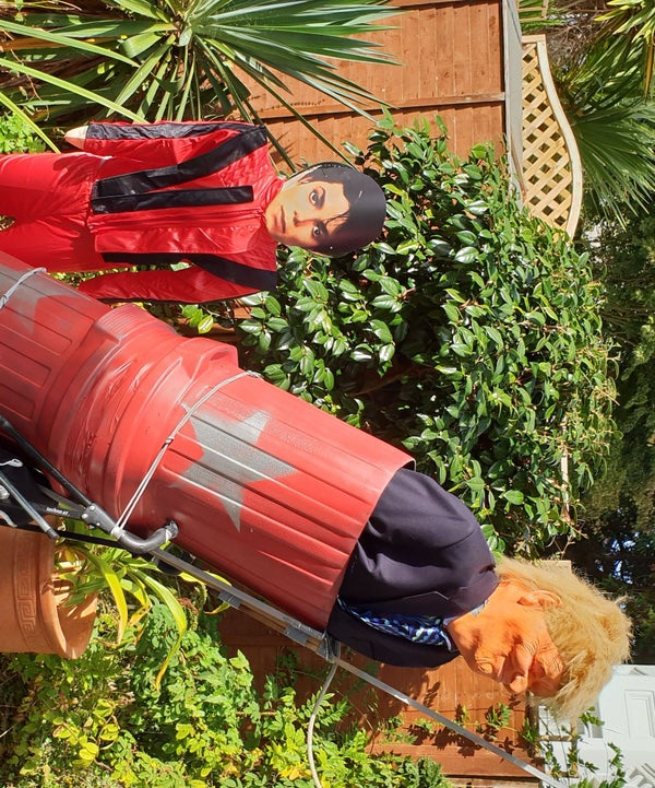 How to Make Human Cannonball Fancy Dress