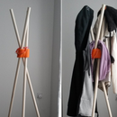 Coat Rack With 3d Printed Parts