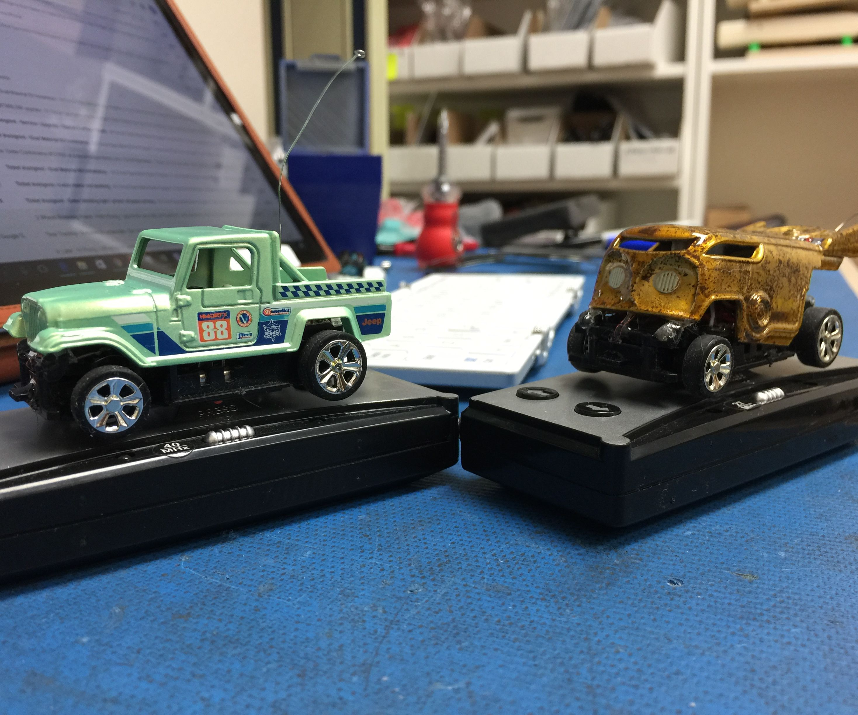 How to Modify Standard Hot Wheels to R/C Hot Wheels