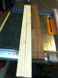 Rip and Crosscut the Boards to the Proper Lengths and Bevels