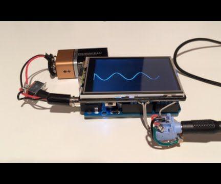 Arduino TFT oscilliscope