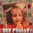DIY Christmas Ornament Photo Frame