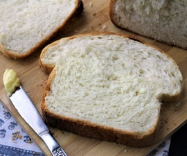 LOCKDOWN Essential: White Sandwich Bread (almost No-knead)