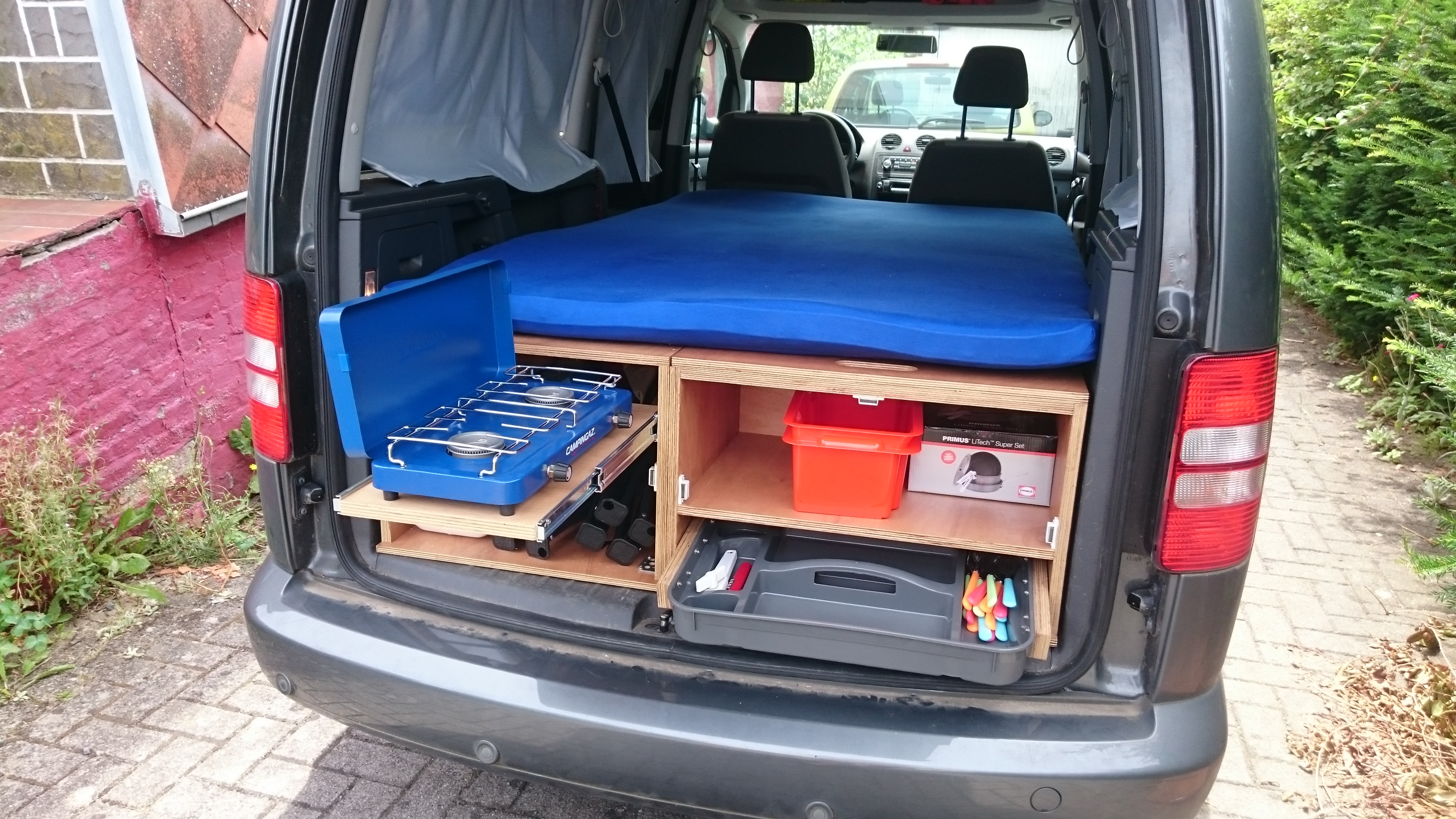 Diy Vw Caddy Maxi Camper 8 Steps With Pictures Instructables