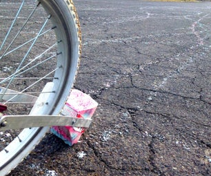 Chalk-O-Lot, the Mega Sidewalk Bike Chalk Grinder With Street Chalk!