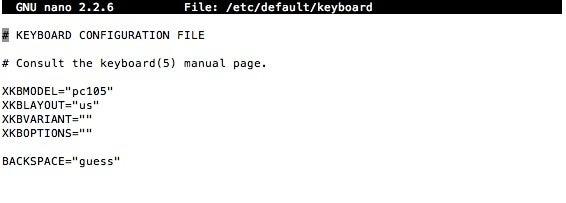 Basic Pi Configuration