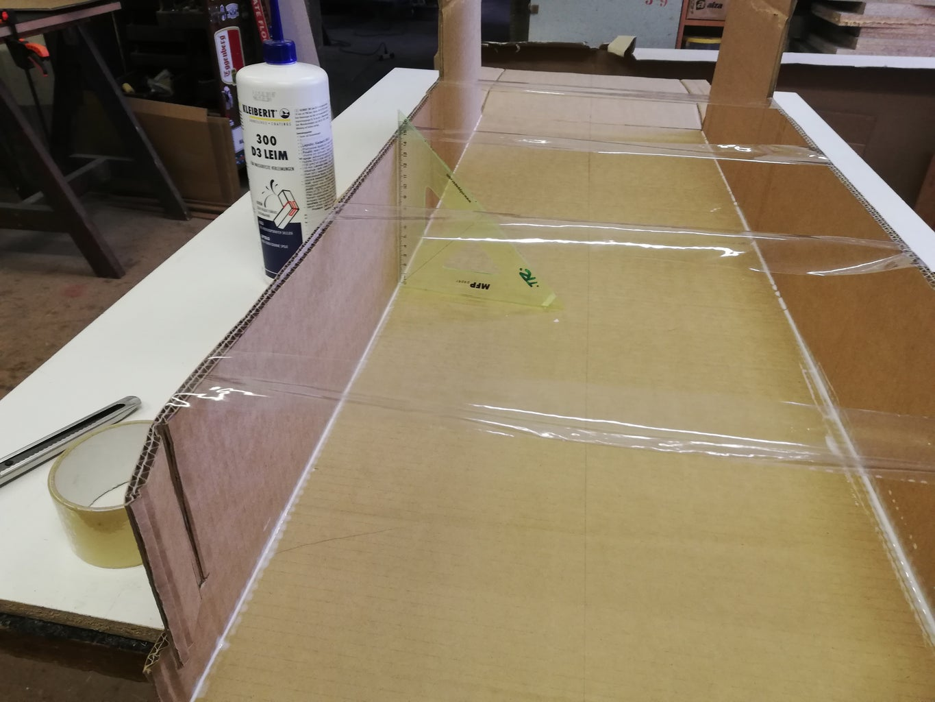 Main Part - Gluing Together