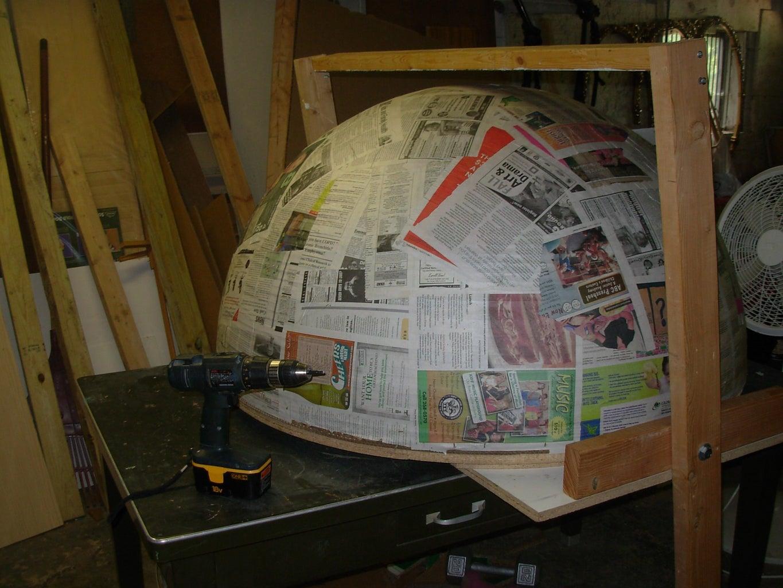 Finish Half-sphere