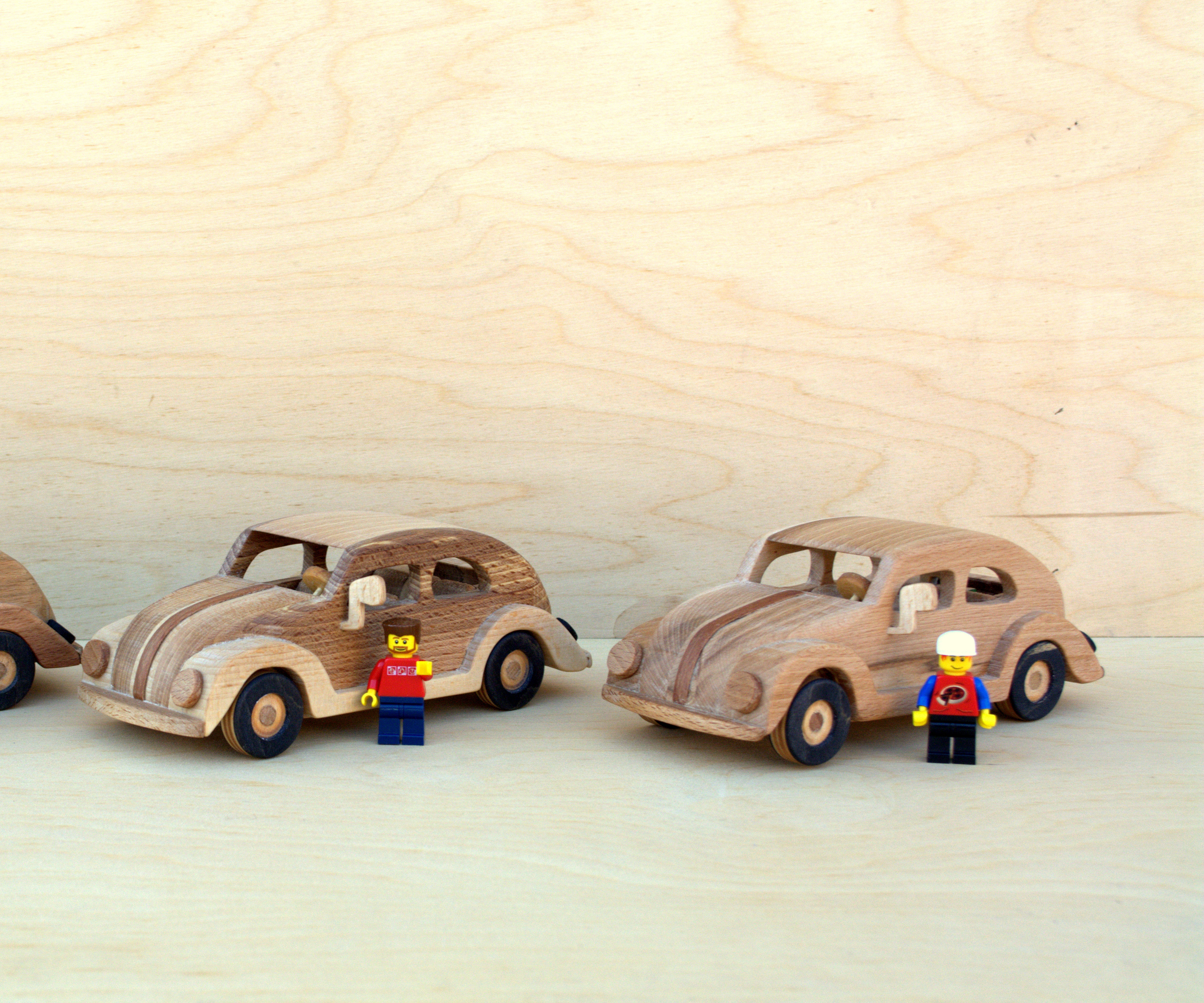 How to Make a Wooden Toy Volkswagen Beetle/Bug