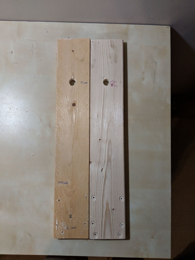 Drill Holes in Larger Set of Boards
