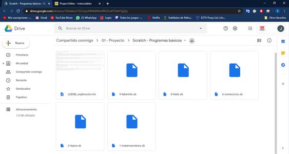 Paso 8: Descarga De Archivos  Base Para Experimentar Con Programación