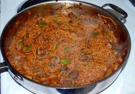 Whole Grain Chipotle-Adobo Noodles
