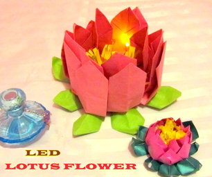 LED Lotus Flower