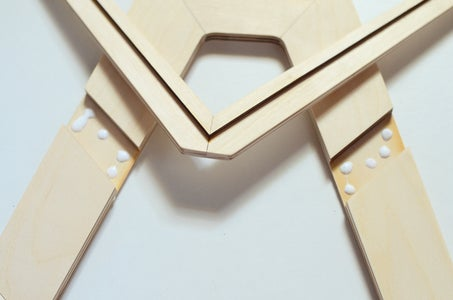 Assembling the Frame of the Magazine Rack