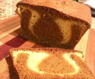 甜南瓜丝带面包