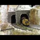 Model Railroad Automatic Tunnel Lights