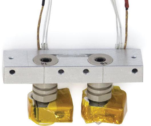 MM2X Makerbot Replicator 2X alternative extruder installation