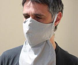 Adjustable Face Mask for a Beard