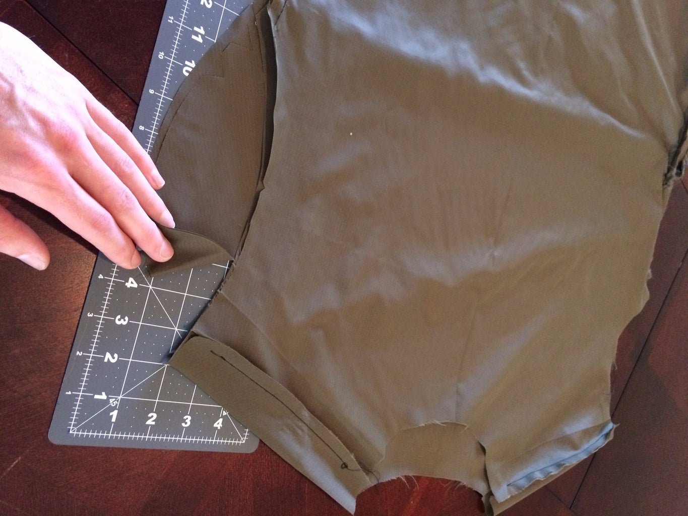 Attach the Sleeves to the Body