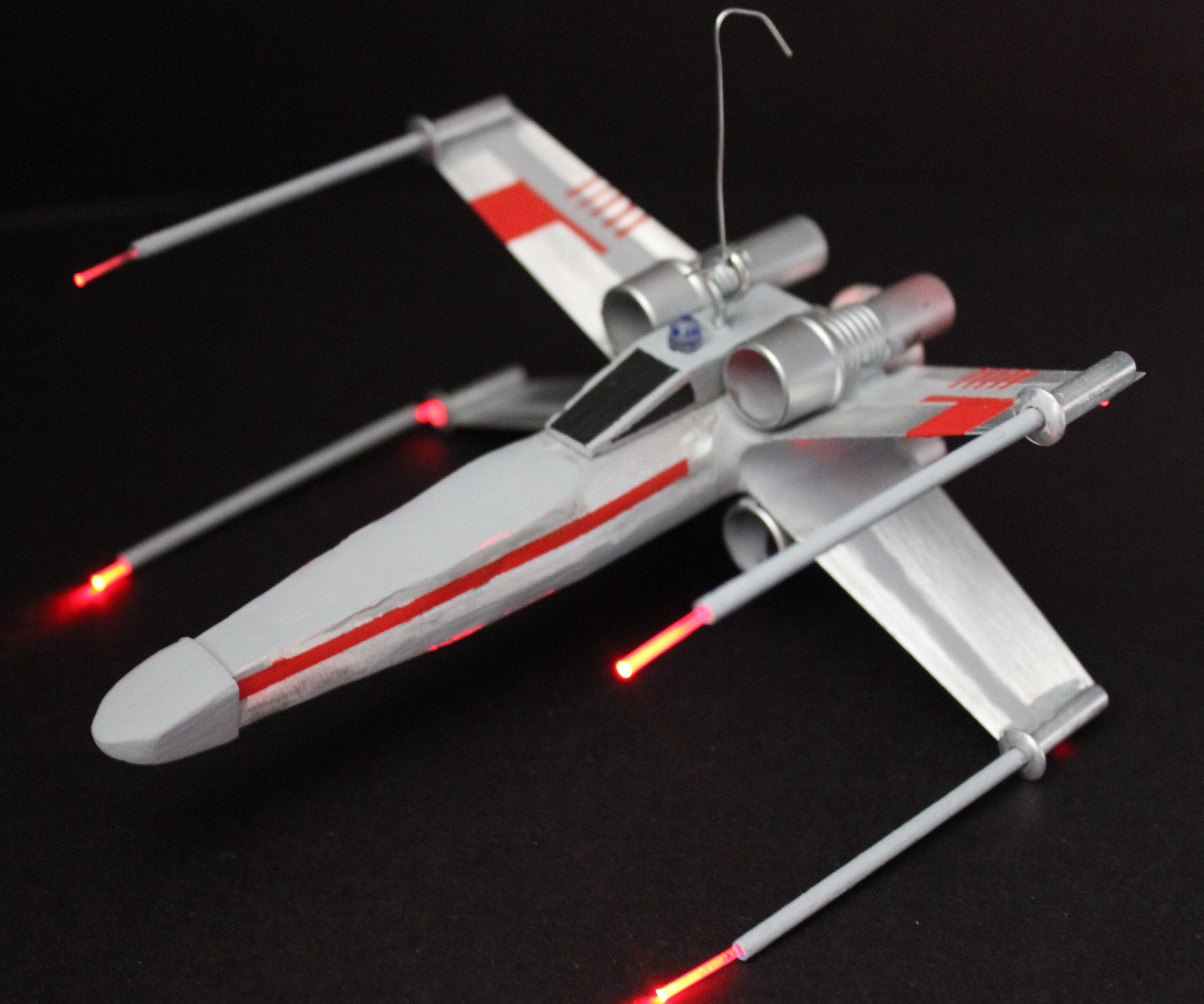 DIY X-Wing Fighter Ornament
