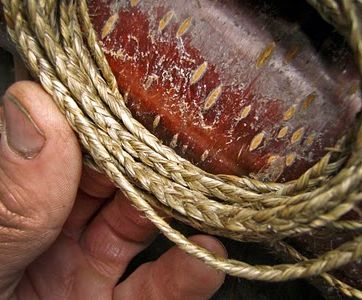 Making Survival Cord From Nettles