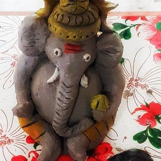 DIY - Making of Lord Ganesha at Home