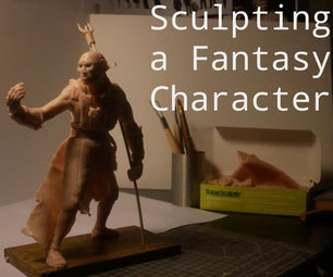 Sculpting a Fantasy Character With a Wire Armature