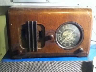 Gut the Radio and Repair Any Cracks