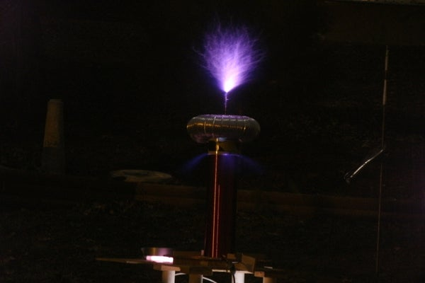 The Improved Simple Tesla Coil