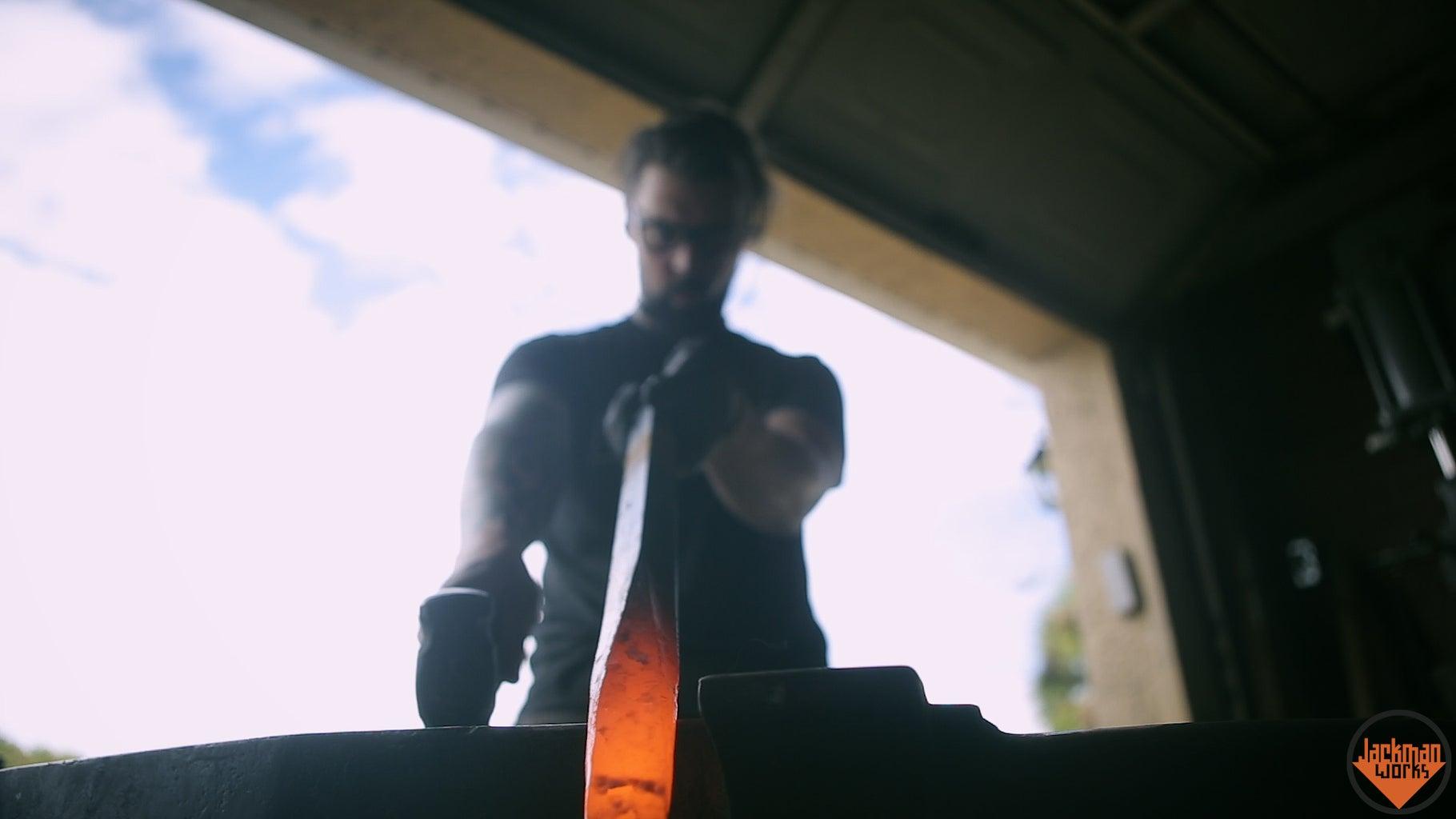 Blacksmithing the Shank