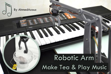 UR12 Musician and Assistant Robotic Arm