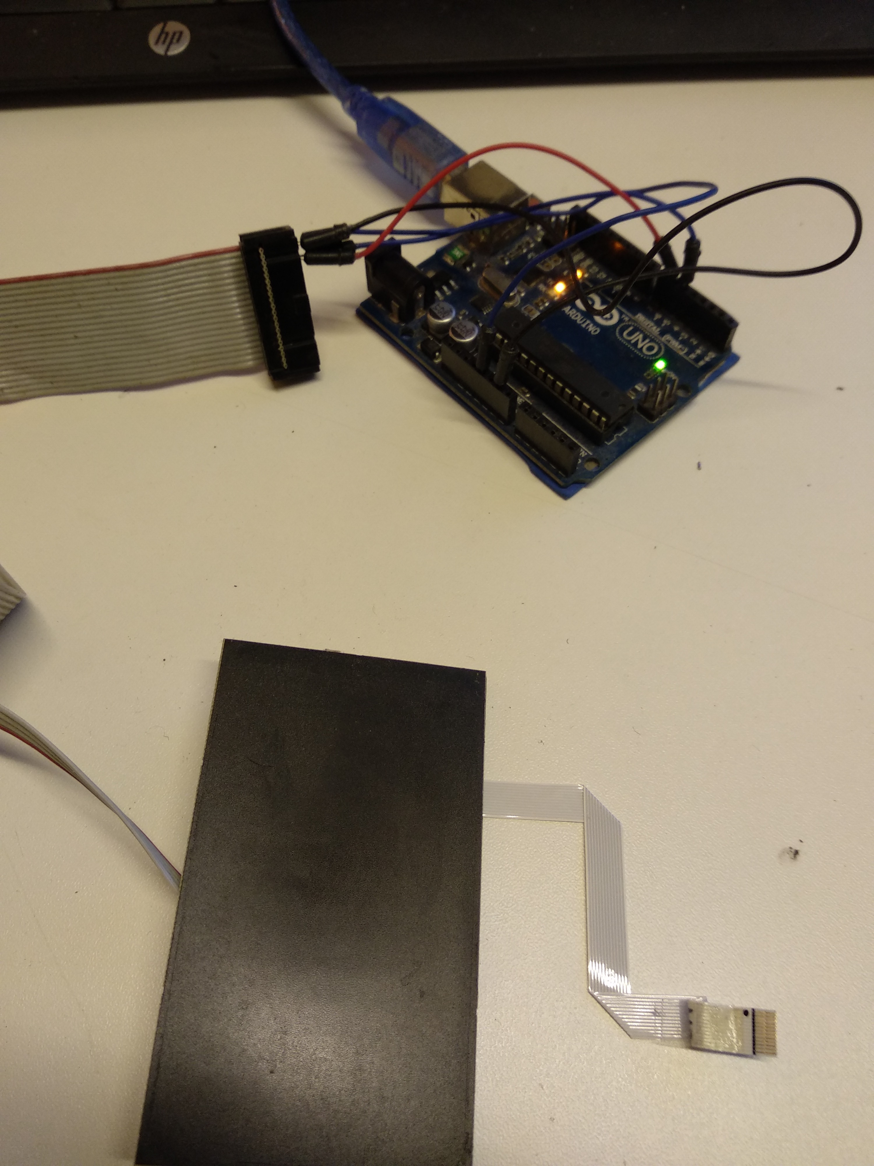 Reuse Old Laptop's Touchpad to Control a Stepper Motor