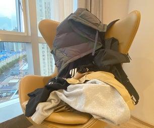 Shovel Jacket Hanger