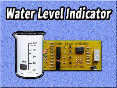 Water Level Indicator   Circuits DIY