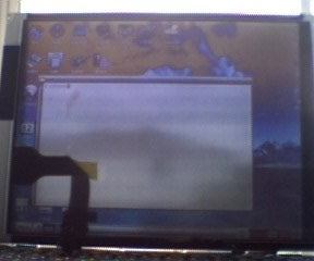 Clear See Through LCD Screen