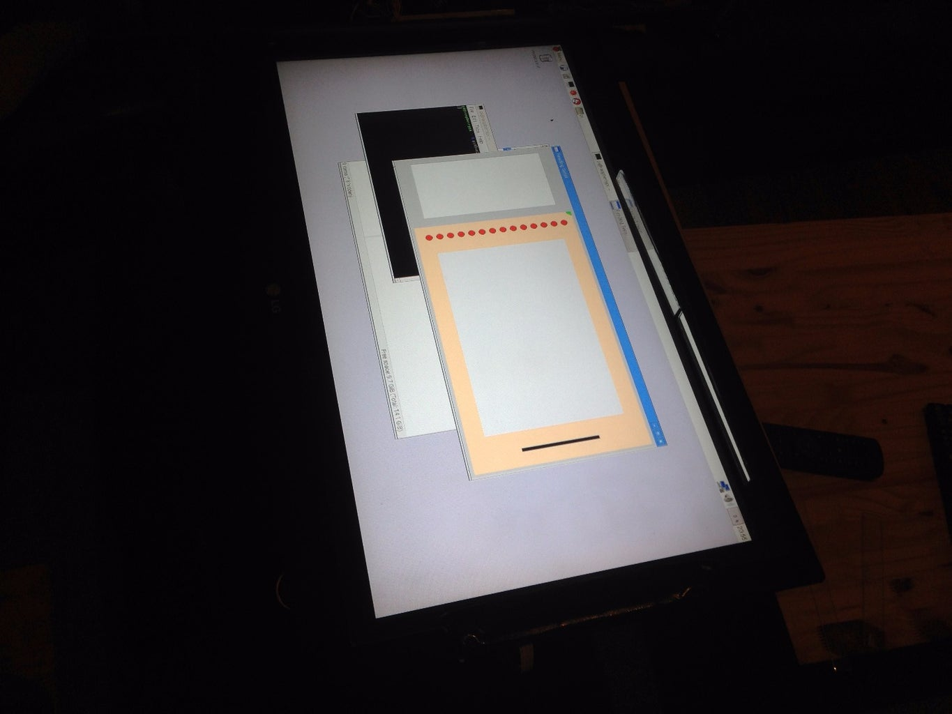 Raspberry Pi Python & Processing GUI Touch Interface