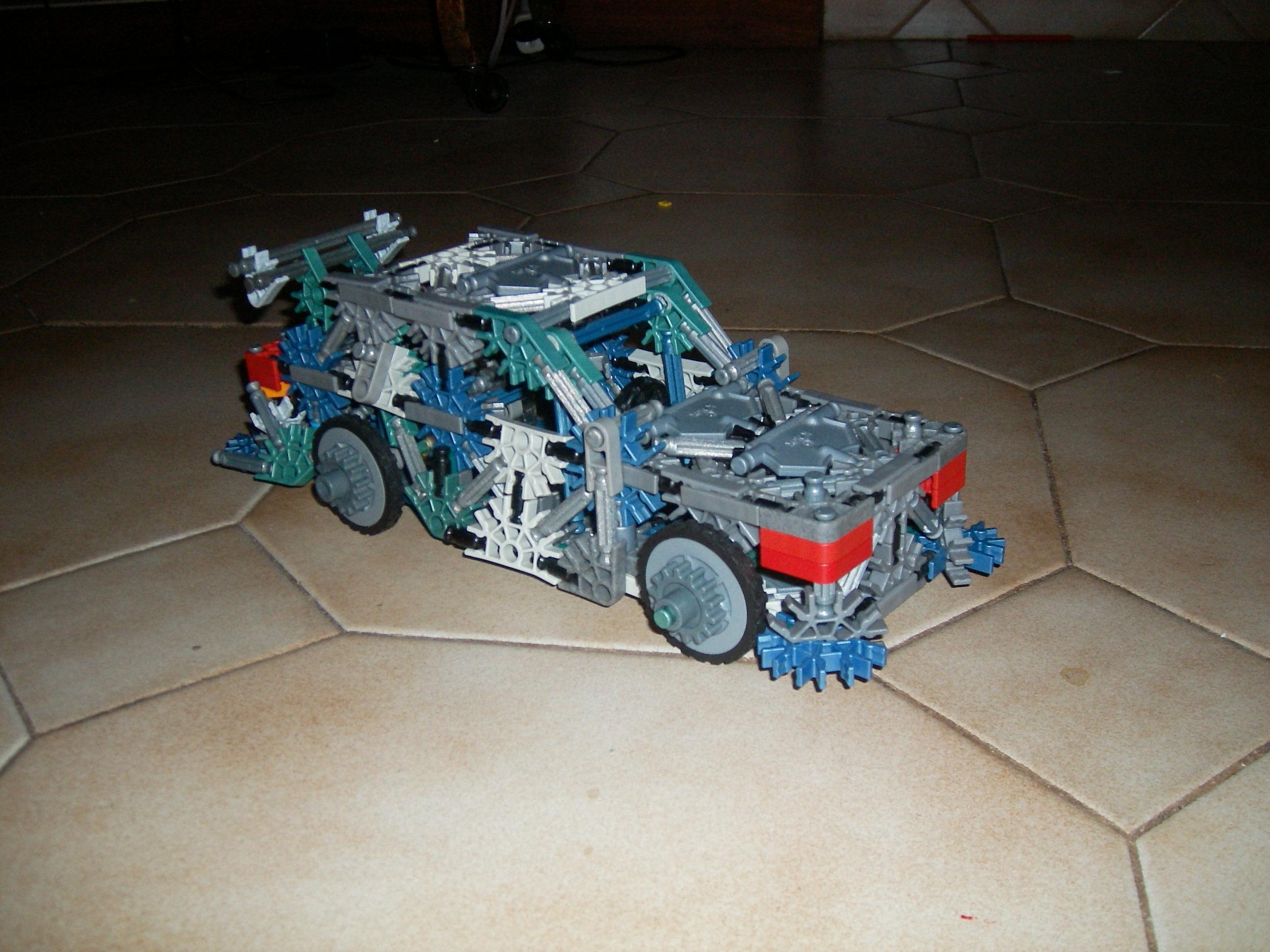 Knex car with suspension