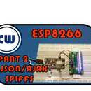 EPS8266 WEB LED Control + JSON + SPIFFS