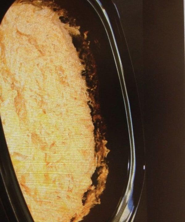 Buffalo Chicken Dip in a Crockpot