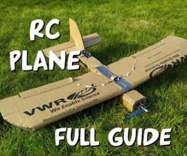 Cardboard RC Airplane Full Guide
