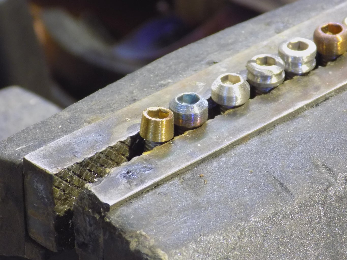 Step 2: Shaping Standard Bolts