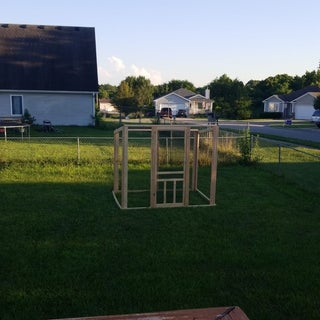Building a Chicken Run for Beginners