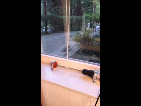 """Remote Controlled Window Lifter by Steve M. Potter """"WindowMoto"""""""