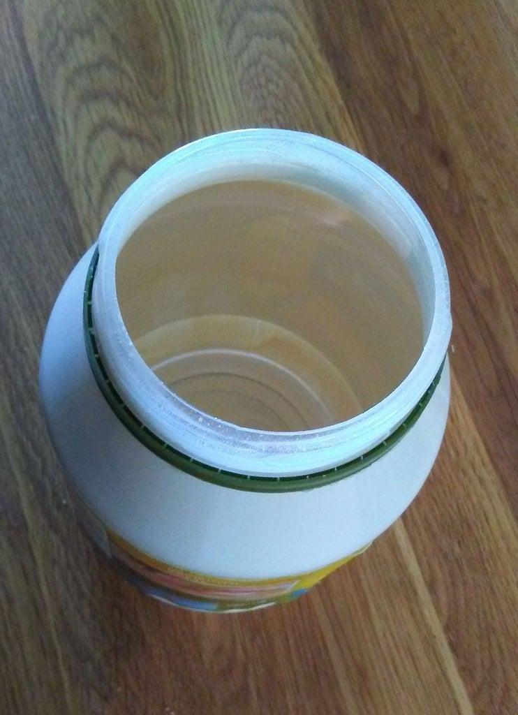 The Mayo Jar Safe