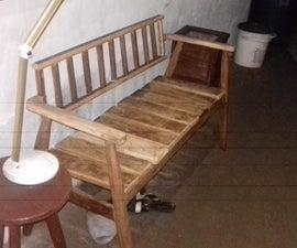 Two Seater Walkway Seat