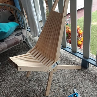 Wooden Outdoor Folding Chair